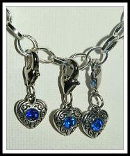 Rhinestone Tibetan Silver European Jewellery Charms