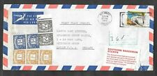 Southern Rhodesia - 1970 postage due cover from Bulawayo to London.