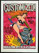 Customized POSTER Art Show Hot Rod Lowriders Car Culture Signed Numbered by Coop