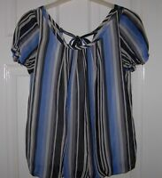 MARKS AND SPENCER M&S LIMITED COLLECTION SILKY BLOUSE TOP SIZE 6 8 FREE P&P
