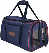 Pet Carrier for Dogs Cats Comfort Airline Approved Travel Tote Soft Sided Bag