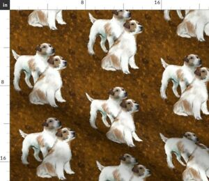 Terrier Terriers Dogs Breeds Animals Spoonflower Fabric by the Yard