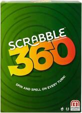 Mattel Board Game - Scrabble 360 - Spin and spell on every turn