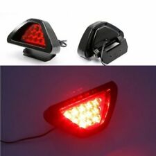 1PC F1 style 12LED Rear Tail Brake Stop Light Third Strobe Fog DRL Red Lens Lamp