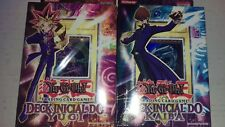 Yu-Gi-Oh! Starter Deck Yugi and Kaiba Portuguese 1st Edition SDY SDK DAMAGED