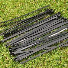 20x Kabelbinder wiederverschließbar 4mm x 250 mm f. Befestigung Baumschutzgitter