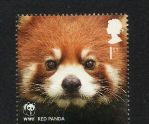 RED PANDA/WWF/GB 2011 UM MINT STAMP