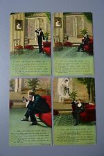 R&L Postcard: Bamforth Song Card Set 1652, If Those Lips Could Only Speak