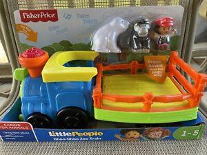 NEW UNOPENED Fisher-Price Little People Choo-Choo Zoo Train - Animals Set