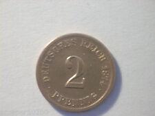 2 pfenning allemagne 1874