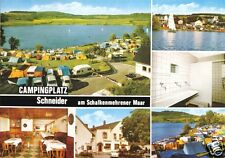 AK, Schalkenmehren Eifel, Campingplatz und Gasthof Schneider, sechs Abb., 1981