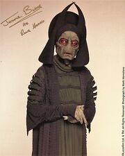 "Jerome Blake as ""Rune Haako"" in STAR WARS: Phantom Menace 8x10 AUTOGRAPHED"