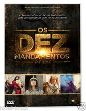 DVD Os Dez Mandamentos [ The Ten Commandments ] [ TV Record Brazil ] Sealed
