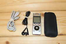 OLYMPUS SILVER DM - 650 DIGITAL VOICE RECORDER DICTAPHONE FREE POSTAGE