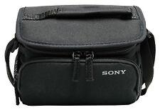 SONY Nylon Handycam Camcorder Carrying Case w/ Shoulder Strap Adjustable Divider