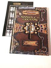 D&D Dungeon & Dragons Manuale del Giocatore 3.5 + Griglia di Combattimento ITA