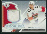 2019-20 Upper Deck Ultimate Collection Rookies Jersey /399 #104 Brady Keeper