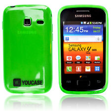 Samsung Galaxy Y Duos Cover Case Protection Case BACK Cover YC Green Glow