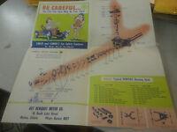 Rare 1952 Pontiac Automobile Brochure Check and Correct Car Safety Features