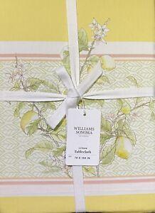 """Williams-Sonoma Citron Tablecloth 70"""" x 108"""""""