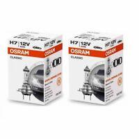 2x Osram H7 Classic 64210 CLC Lampe 12V 55W Autolampe Glühlampe