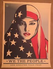 Shepard Fairey We The People Poster Obey Giant Washington DC Women's March Print