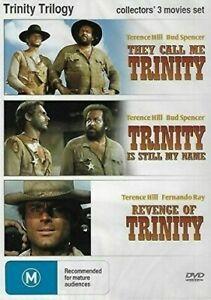 THEY CALL ME TRINITY / TRINITY IS STILL MY NAME / REVENGE OF TRINITY - DVD