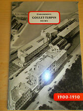 RARE catalogue Goulet Turpin 1er supermarché de France voir scan ( ref 16 )