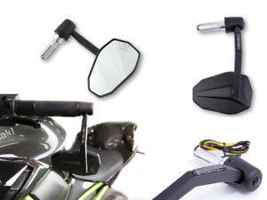 Specchietto Fine Manubrio Highsider CNC Victory-X Con Indicatori LED