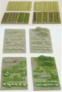 OO Scale Allotments or Gardens (OOS1 & OOS5)