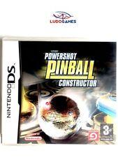 Juego Nintendo DS PowerShot pinball contructor NDS
