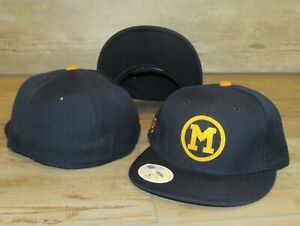 Michigan Wolverines Vintage Logo Stall & Dean Fitted Hat Cap Men's Size 7 5/8