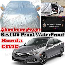 Honda Civic car cover waterproof rain resistant dust UV protect auto car cover