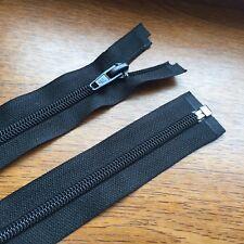 """BLACK ZIP - 24"""" (61 cm) Quality Nylon open end zip ***"""