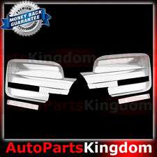 09-14 Ford F150 Triple Chrome Plated Mirror Cover 1 Pair Driver+Passenger side