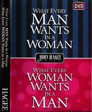 .What Every Man Wants in a Woman - What every Woman Want John Hagee 4 Dvds -Sale