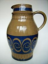 Keramik Krug Vase Johannes A.Urban Friedrichroda Germany Pottery vintage 22cm