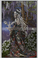 Limited Editions Nene Thomas Dragon Witch: Myerasalome Print  Signed