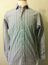 Men s Ralph Lauren Polo Estate Spread Collar Dress Shirt-Sz 15.5 32-Classic 7ba8e4956ea2