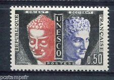 FRANCE, 1960-65, timbre de SERVICE 25, UNESCO, BOUDDHA, neuf**