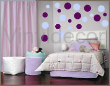 WALL ART STICKERS 216 POLKA DOTS CIRCLES room decor pbv