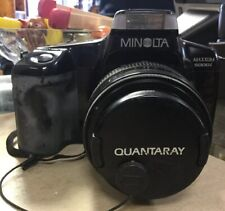 Minolta Maxxum 5000i SLR Film Camera w/Quantaray MX AF 35-70mm f3.5-4.5 Lens