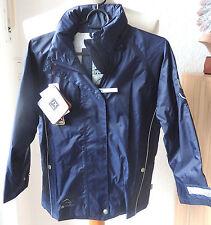 Jeantex niños lluvia chaqueta, azul, talla 128, reitjacke