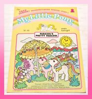 ❤️My Little Pony G1 Merch 1987 VTG Magazine Comic #46 Parasol's Pretty Parasol❤️