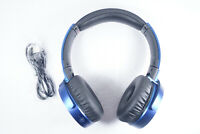 Sony MDRXB650BT/L Extra Bass Bluetooth Wireless Headphones, Blue