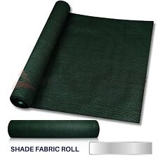 6' or 8' Tall Shade Cloth Fabric Roll Fence Privacy Wind Screen Uv Block Garden