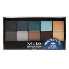MUA Matte Collection Winter Forest 10 Shade Eye Shadow Palette 10g