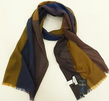 Paul Smith Ladies Scarf  Silk Blend  Scarf Blue