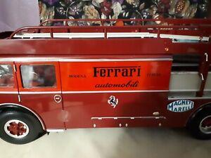 1:18 FIAT 642 BARTOLETTI FERRARI RACE TRANSPORTER CMR140