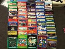 HUGE LOT OF 47 BOXED INTELLIVISION GAMES! NEAR COMPLETE ALL OVERLAYS BEAMRIDER